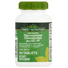 Finest Advanced Glucosamine & Chondroitin Plus UC-II Tablets60ea
