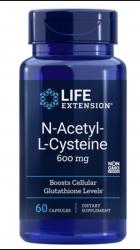 N-Acetyl-L-Cysteine 600 mg, 60 vegetarian capsules Life Extension