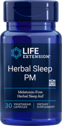 Herbal Sleep PM 30 capsules Life Extension