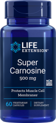 Super Carnosine 500 mg, 60 vegetarian capsules LE