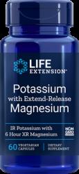 Potassium with Extend-Release Magnesium   60 cápsulas vegetarianas L.E.