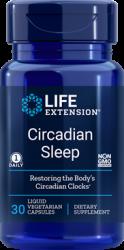 Circadian Sleep  30 liquid vegetarian capsules  Life Extension