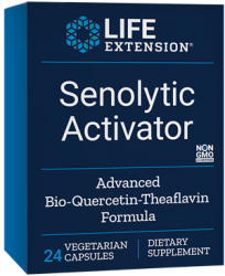 Senolytic Activator 24 vegetarian capsules  Life Extension