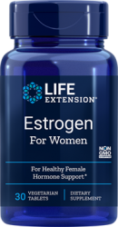 Estrogen for Women 30 vegetarian tablets  Life Extension
