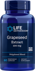 Grapeseed Extract 100 mg, 60 vegetarian capsules Life Extension