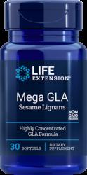 Mega GLA with Sesame Lignans  30 softgels Life Extension