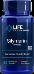 Silymarin 100 mg, 90 vegetarian capsules  Life Extension