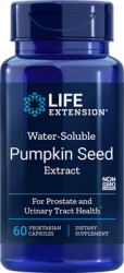 Water-Soluble Pumpkin Seed Extract, 60 vegetarian capsules Life Extension