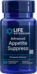 Advanced Appetite Suppress 60 vegetarian capsules Life Extension