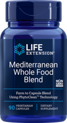 Mediterranean Whole Food Blend 90 vegetarian capsules L.E.