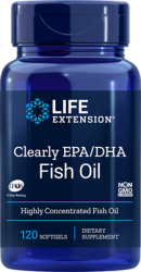 Clearly EPA/DHA 120 softgels Life Extension