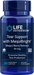 Tear Support with Maqui Berry Extract 60 mg, 30 vegetarian capsules Life Extension