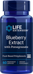 Blueberry Extract with Pomegranate, 60 vegetarian capsules Life Extension