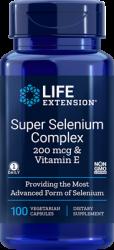 Super Selenium Complex 200 mcg & Vitamin E, 100 vegetarian capsules Life Extension