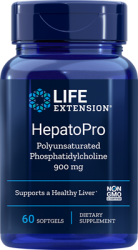 HepatoPro (Polyunsaturated Phosphatidylcholine) 900 mg, 60 softgels Life Extension