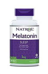 Natrol - Melatonin 3 mg. - 240 Tablets
