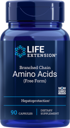 Branched Chain Amino Acids - 90 capsules Life Extension