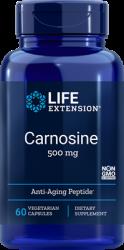 Carnosine - 500 mg, 60 vegetarian capsules L.E.