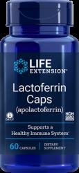 Lactoferrin (apolactoferrin) Caps - 60 capsules Life Extension