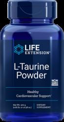 L-Taurine Powder Supports Cardiovascular Health  Net Wt. 300 g (0.66 lb. or 10.58 oz.) L.E.