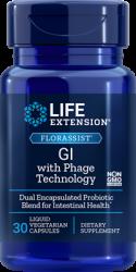 FLORASSIST® GI with Phage Technology, 30 liquid vegetarian capsules