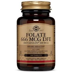 Folate 666 MCG DFE (400 MCG FOLIC ACID) 100 Tablets