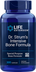 Dr. Strum's Intensive Bone Formula 300 capsules Life Extension