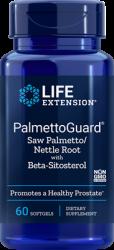 PalmettoGuard® Saw Palmetto/Nettle Root Formula  beta-sitosterol 60 cápsulas L.E.