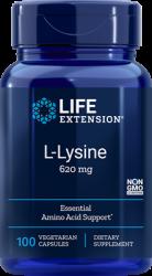 L-Lysine 620 mg, 100 vegetarian capsules Life Extension