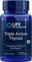 Triple Action Thyroid 60 vegetarian capsules Life Extension