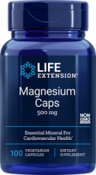 Magnesium  500 mg, 100 Caps vegetarian caps Life Extension