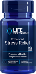 Enhanced Stress Relief 30 vegetarian capsules Life Extension