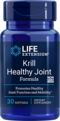 Krill Healthy Joint Formula  30 softgels; Life Extension