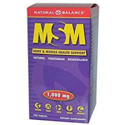 MSM  1000 mg 240 tablets Natural Balance