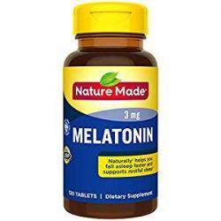 Nature Made Melatonin, 3mg, 120 Tablets