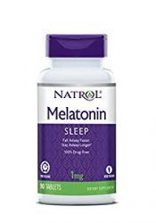 Natrol Melatonin 1mg Timed Release Tablets , 90-Count
