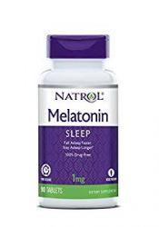 Natrol Melatonin 1mg Timed Release Tablets , 90-Count