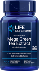 Mega Green Tea Extract (decaffeinated)  100 vegetarian capsules L.E.
