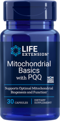 Mitochondrial Basics with BioPQQ®  30 capsules Life Extension