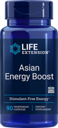 Asian Energy Boost 90 vegetarian capsules Life Extension