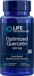 Optimized Quercetin 250 mg, 60 vegetarian capsules - Life Extension