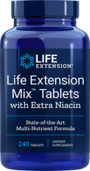 Life Extension Mix™ Tablets with Extra Niacin 240 Tablets