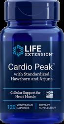Cardio Peak™ with Standardized Hawthorn and Arjuna 120 vegetarian capsules L.E.