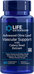 Advanced Olive Leaf Vascular Support with Celery Seed Extract      60 capsules L.E.