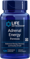 Adrenal Energy Formula 120 vegetarian capsules Life Extension