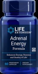 Adrenal Energy Formula 60 vegetarian capsules Life Extension