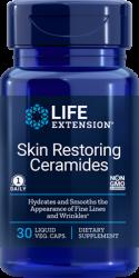 Skin Restoring Ceramides 30 liquid vegetarian capsules Life Extension