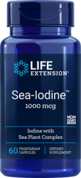 Sea-Iodine™1000 mcg 60 vegetarian capsules Life Extension