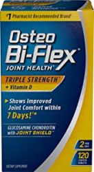 Osteo Bi-Flex Advanced Triple Strength 120 Caplets Glucosamine Chondroitin MSM with 5-Loxin,