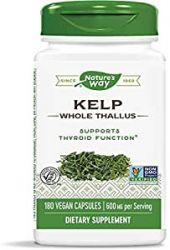 Natures Way  Kelp - 180 Capsules